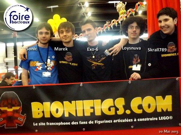 Nos amis Bionifigs en direct de la foire !