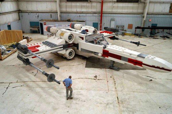 chiffre du jour: nombre de pièces pour faire un X-Wing à l'échelle 1:1: 5.335.200