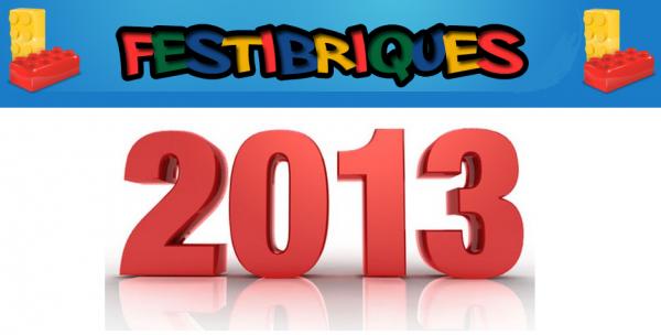 exposition 100% Lego : l'annonce de Festi'Briques 2013: exposition nationale et internationale 25 au 27 octobre 2013 en région parisienne
