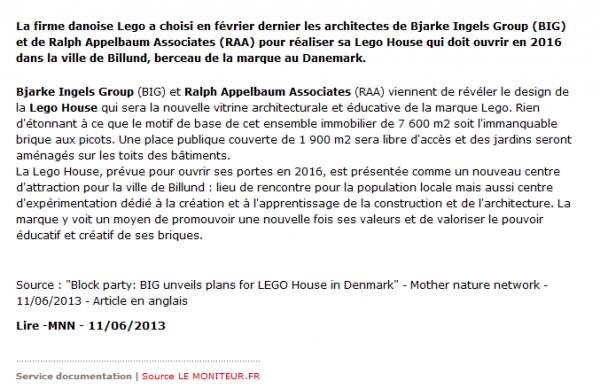 Billund : la saga Lego continue