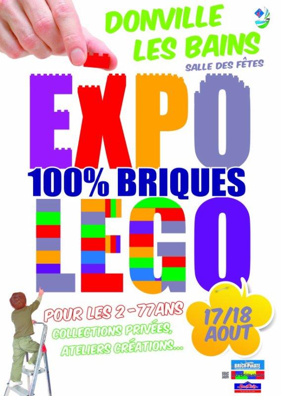 La Briqueury: exposition 100% LEGO à Donville les Bains ( Manche ) le 17 et 18 Aout 2013
