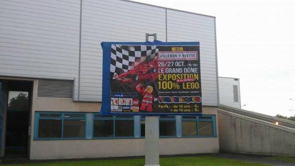 J-12 - Grand prix de Lego F1 de France à Villebon-sur-Yvette (91)  26&27 octobre 2013