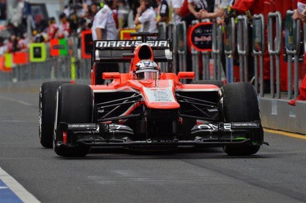 J-11 Ecurie F1 Marussia