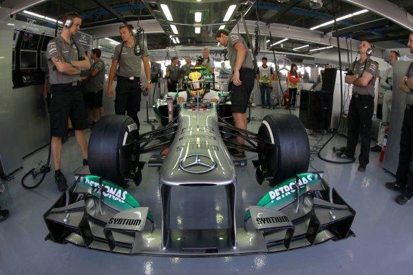 J-5 Ecurie F1 Mercèdes Benz