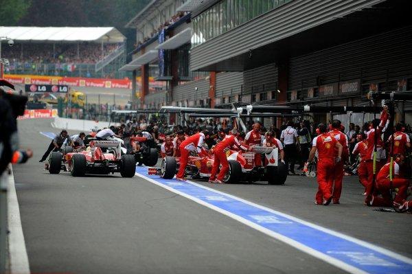 J-2 Ecurie F1 Ferrari