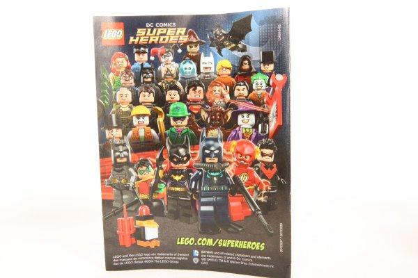 Photo de famille 2014 des minifigs DC Universe.