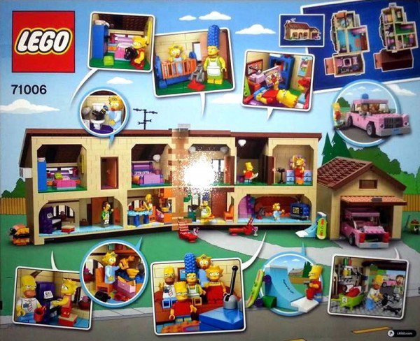 The Simpsons House : Le set 71006