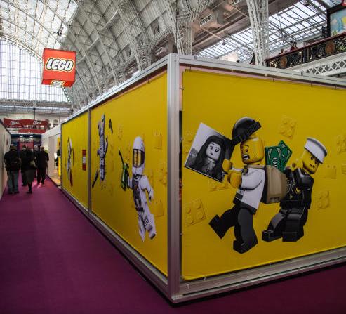 london toy fair 2014: comme toujours le mystère Lego  mais juste Artic et trains... à suivre...