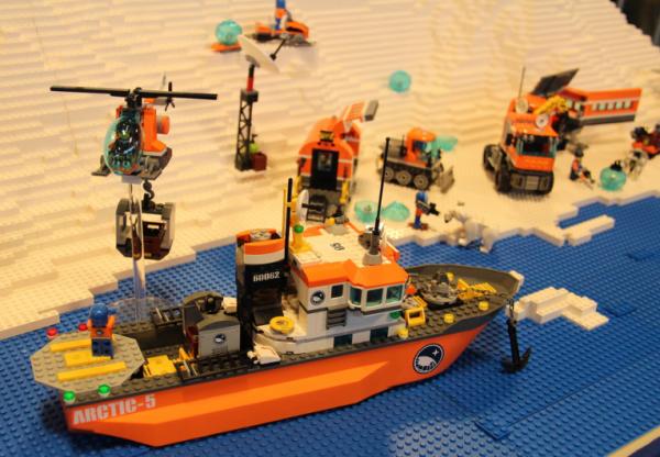 La gamme Arctic avec de nouveaux sets visibles au Legoworld danois !