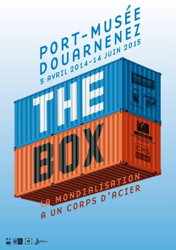 """Expo du 5 avril 2014 au 14 juin 2015 """"in the box"""" port musée de Douarnenez - Maquette  Festi'briques Lego Maersk Line"""