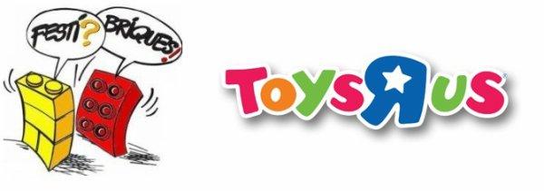 Toys R US Cormontreuil (Reims) Festi'briques fait une animation ce samedi 11 avril 2015 10h - 18h
