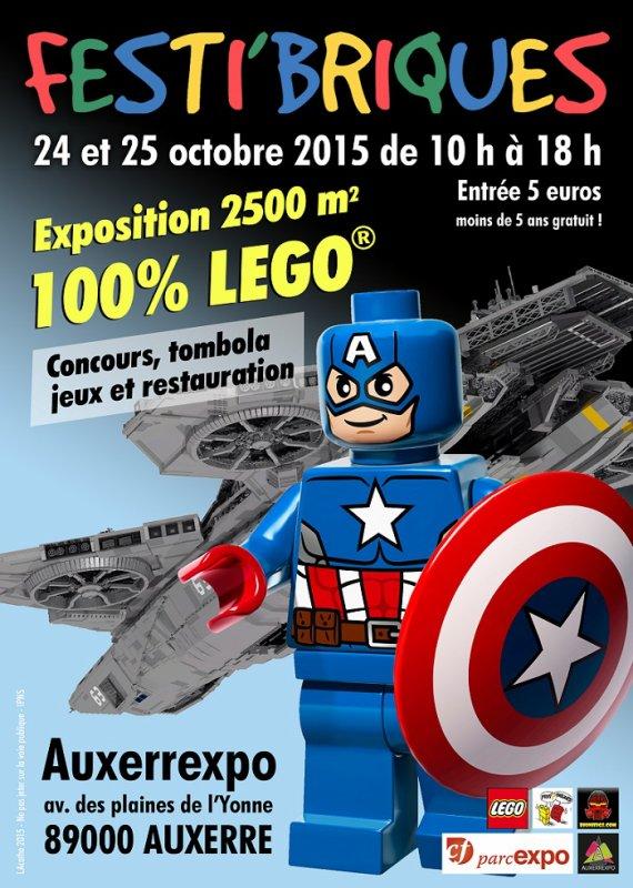 Festi'briques 2015 : Auxerre - 24 et 25 octobre