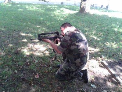 en monde entrainement de tire
