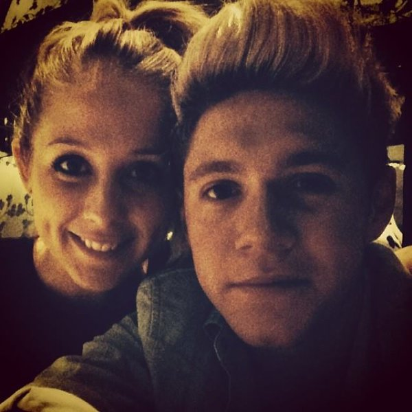 Niall et une ami <3