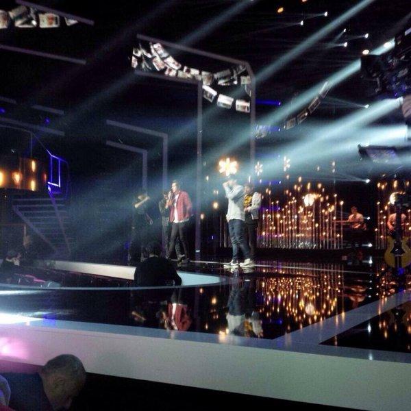 Les boys au Répétition  pour les NRJ music awards <3