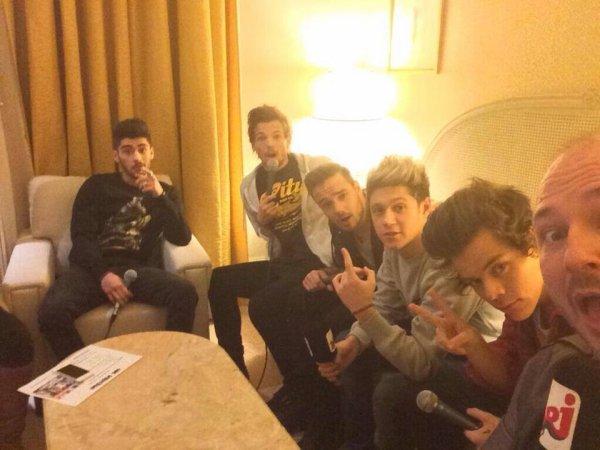 les boys aujourd'hui :) le 14/12/2013