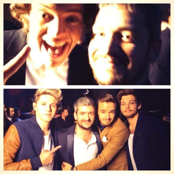 Harry et Liam et Niall au NRJ music awards <3