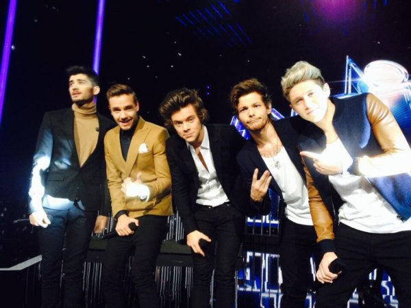 Les boys au nrj music awards <3