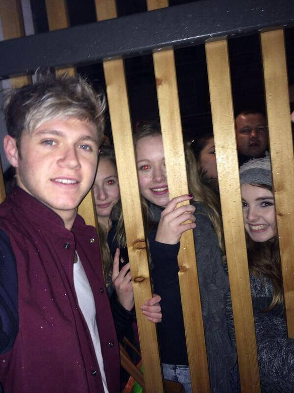 Niall le 15/12/2013 <333