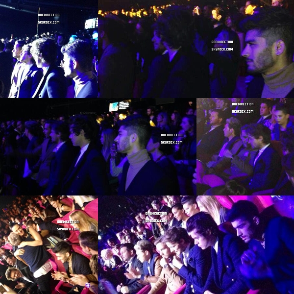 Les boys au nrj music awards :)