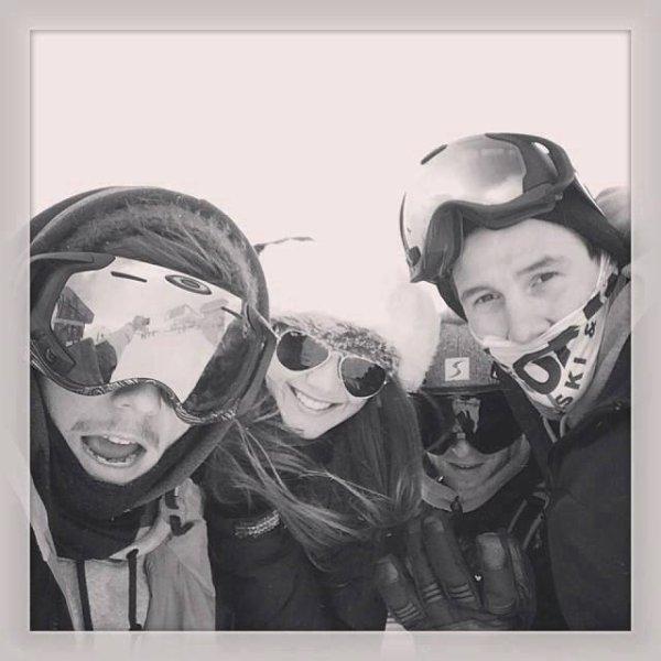 Louis et eleanor ^^   au Ski  le 27/01/2014 <3