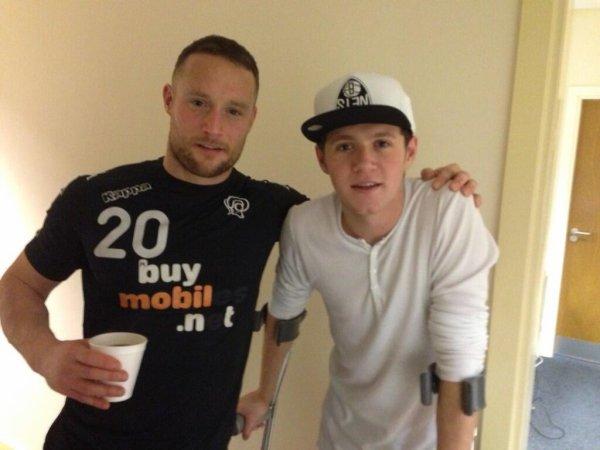 Niall  aujourd'hui <3 le 5/02/2014 <3 :)