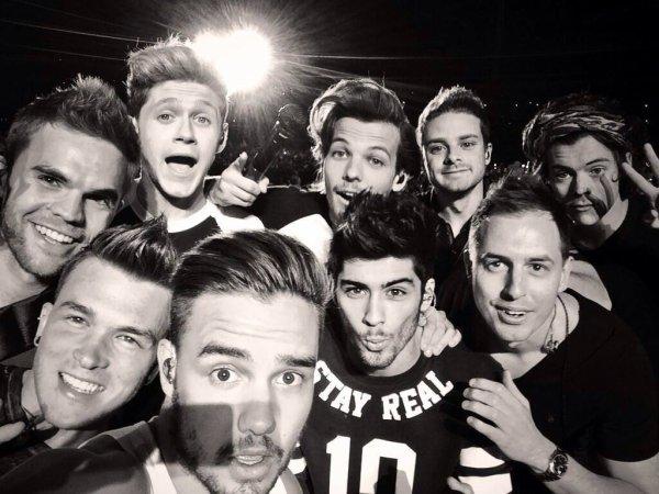Les boys hier le 30/04/2014  :)