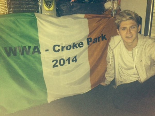 Niall hier le 27/05/2014 :)