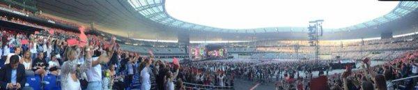 Le stade de France le 21/06/2014  :)