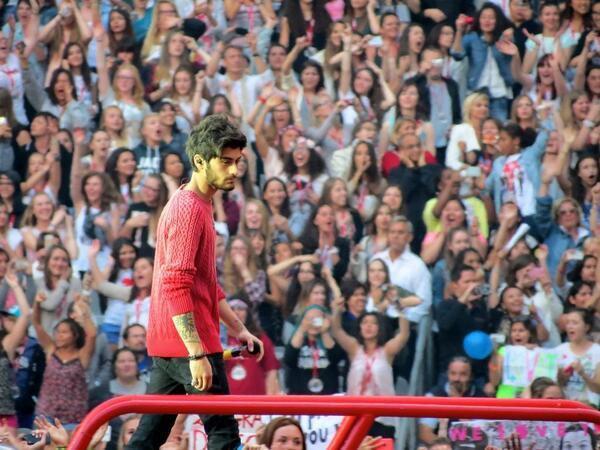 Les boys au stade de France le 21/06/2014