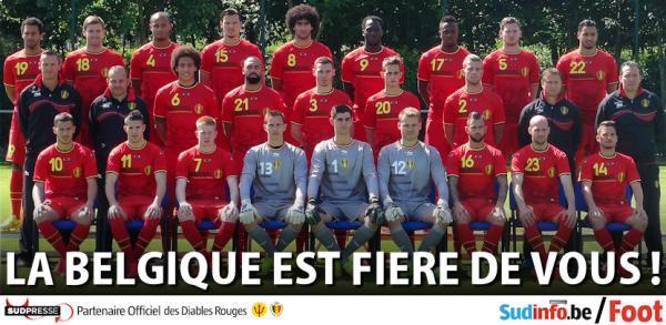 #CoupeDuMonde ; Bravo aux diables rouges pour leurs  beau parcours au bresil ;)