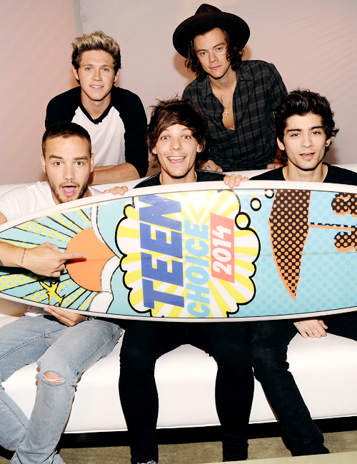 Les boys hier au Teen Choice Awards 2014 :)
