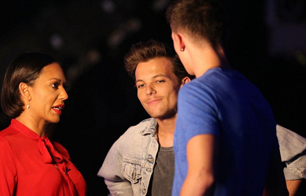 Louis hier a X Factor