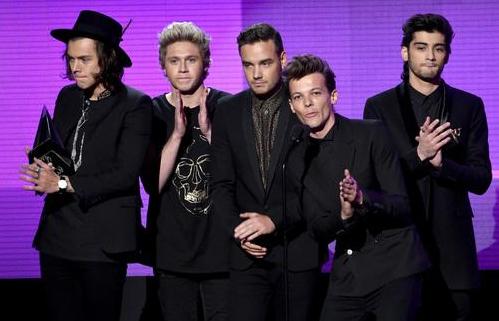 Les boys ont gagnés les 3 awards hier au AMA's!