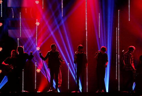 Les boys aux ARIAs 26.11.2014