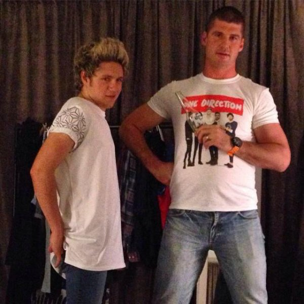 Niall backstage in Brisbane - 11.02.2015 et Niall et Jonathan Brown à Brisbane, en Australie. (Backstag♫e)