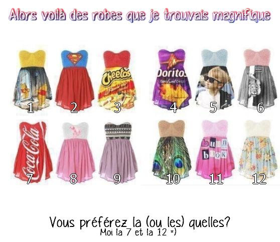 quelle robe? ;p