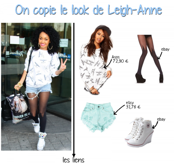 On opie le look de Leigh-Anne