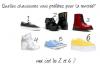 Quelles chaussures ?