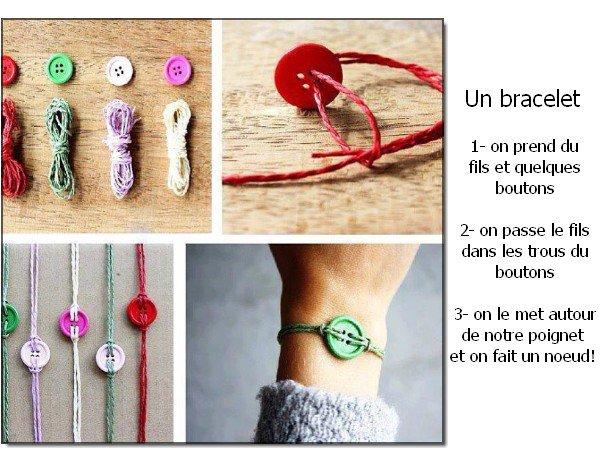 Quelques petites choses à faire avec des boutons