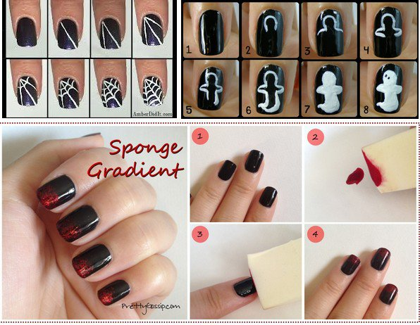 Halloween: special nail art