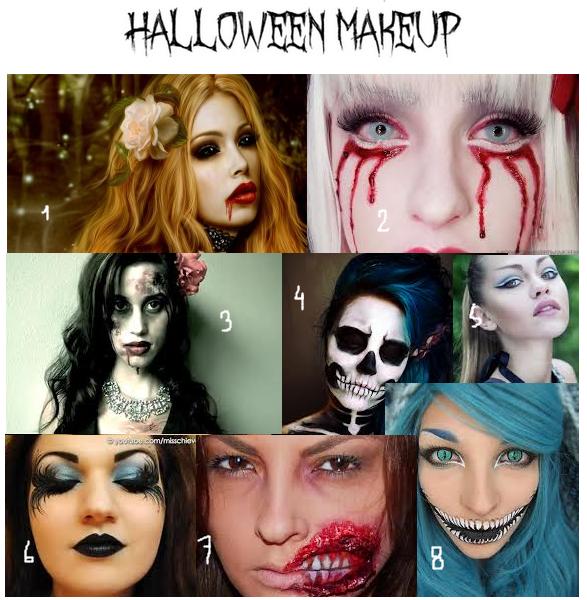 Halloween: makeup