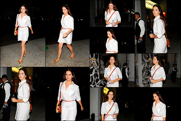 25/08/16 :Lana Del Rey assistée à l'exposition d'Art de l'artiste Bosco Sodi dans le comté de Los Angeles - Californie. Cette tenue lui va parfaitement, Lana Del Rey était sublime encore une fois, elle ne nous déçoit pas, c'est un top. Qu'en pensez-vous?