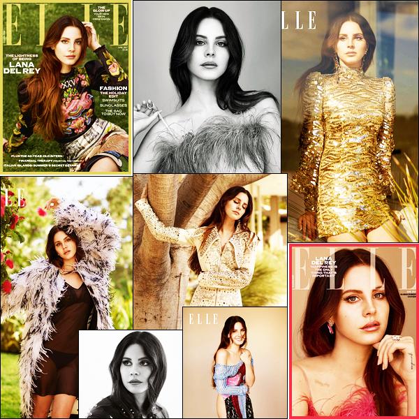 - Lana Del Rey est en couverture du magazine ELLE UK pour son issue de ● Juin 2017 ! -