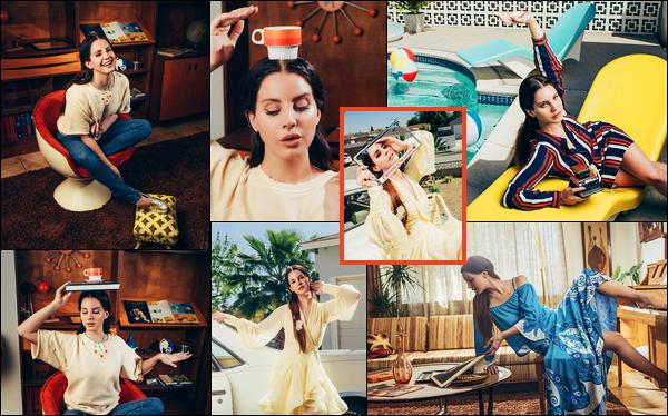 - La jolie Lana Del Rey a réalisé un tout nouveau shooting pour le magazine Paris Match ! -