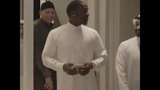 Karim Wade au catar avec Akon