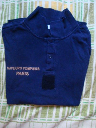 TEE-SHIRT BRIGADE DES SAPEURS-POMPIERS DE PARIS ( NOUVEAU MODELE)