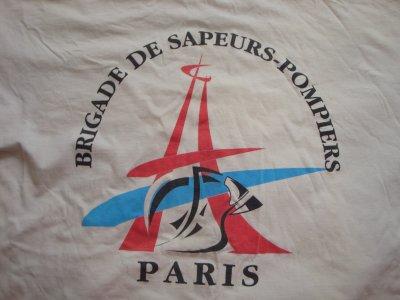 N°2 MAILLOT DE SPORT BRIGADE DES SAPEURS-POMPIERS DE PARIS