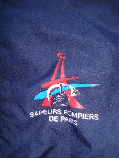 COUPE VENT DES SAPEURS-POMPIERS DE PARIS