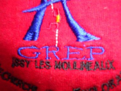 N°4 SWEAT-SHIRT  DU GREP DE LA BRIGADE DES SAPEURS-POMPIERS DE PARIS